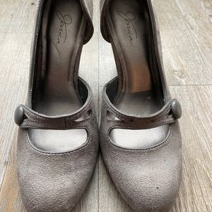 JESSICA SIMPSON | Cute Suede Shoes